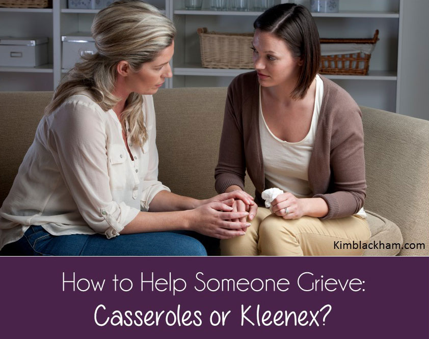 How to help someone grieve